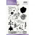 Precious Marieke Clear Stamp Set - Timeless Flowers