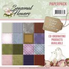 "Precious Marieke 6""x6"" Paperpack - Seasonal Flowers (24 sheets)"