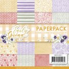 "Precious Marieke 6""x6"" Paperpack - Early Spring (24 sheets)"