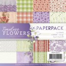 "Precious Marieke 6""x6"" Paper Pack - Timeless Flowers (23 sheets)"