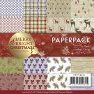 "Precious Marieke 6""x6"" Paper Pack - Merry and Bright Christmas (23 sheets)"