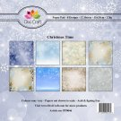 "Dixi Craft 6""x6"" Paper Pack - Christmas Time (32 sheets)"