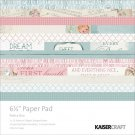 "Kaisercraft 6.5""x6.5"" Paper Pack - Peek-A-Boo (40 sheets)"