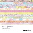 "Kaisercraft - Pink Gelato 6.5"" x 6.5"" Speciality Paper Pack"