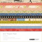 "Kaisercraft - Miss Match 6.5"" x 6.5"" Paper Pad (40 sheets)"