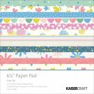 "KaiserCraft 6.5"" x 6.5"" Suga Pop Paper Pad (40 sheets)"