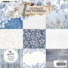 "Studio Light 6""x6"" Paper Pad - Celebrate New Beginnings nr.159 (36 sheets)"