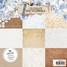 "Studio Light 6""x6"" Paper Pad - Celebrate New Beginnings nr.160 (36 sheets)"