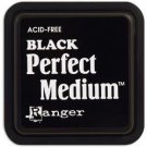 "Ranger Perfect Medium 3""x3"" Stamp Pad - Black"