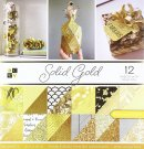 DCWV 12x12 Double-Sided Cardstock Stack - Solid Gold (36 sheets)