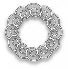 Poppy Stamps Dies - Curly Wreath