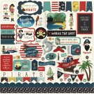 "Echo Park 12""x12"" Element Sticker Sheet - Pirate Tales"