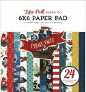 "Echo Park 6""x6"" Paper Pad - Pirate Tales (24 sheets)"