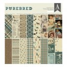 "Authentique 12""x12"" Collection Kit - Purebred (17 sheets)"