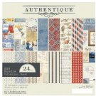 "Authentique 6""x6"" Cardstock Pad - Quest (24 sheets)"