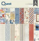 "Authentique 12""x12"" Collection Kit - Quest (17 sheets)"