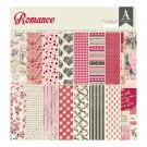 "Authentique 12""x12"" Paper Pad - Romance (24 sheets)"