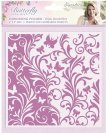 Crafters Companion Sara Signature Collection - Butterfly Lullaby Embossing Folder (Bijou Butterflies)
