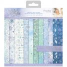 "Crafters Companion 12""x12"" Paper Pad - Glittering Snowflakes (36 sheets)"