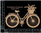 Scrapaholics Laser Cut Chipboard 1.8mm Thick - Bicycle