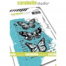 Carabelle Studio A7 Cling Stamp - Mixed Media Butterflies