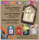 Stampendous Stack Art Cling Stamp Kit - Angel Wings