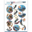 Amy Design 3D Push Outs - Underwater World Deepsea Diving