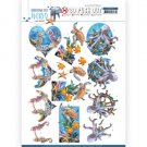Amy Design 3D Push Outs - Underwater World Sea Animals