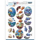 Amy Design 3D Push Outs - Underwater World Saltwater Fish