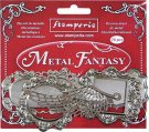 Stamperia Metal Fantasy Selection - Plaquette (16 pieces)