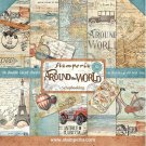 "Stamperia 12""x12"" Double-Sided Paper Pad - Around The World (10 pack)"