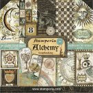 "Stamperia 12""x12"" Double-Sided Paper Pad - Alchemy (10 pack)"