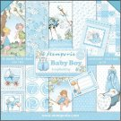 "Stamperia 12""x12"" Double-Sided Paper Pad - Baby Boy (10 pack)"