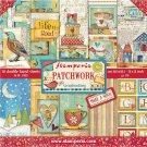 "Stamperia 12""x12"" Double-Sided Paper Pad - Patchwork (10 pack)"
