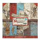 "Stamperia 12""x12"" Paper Pack - Mechanical Fantasy (10 sheets)"