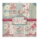 "Stamperia 12""x12"" Paper Pack - Grand Hotel (10 sheets)"