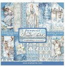 "Stamperia 12""x12"" Double-Sided Paper Pad - Winter Tales (10 pack)"