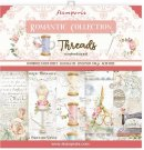 "Stamperia 12""x12"" Double-Sided Paper Pad - Romantic Threads (10 sheets)"