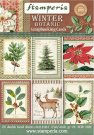 "Stamperia 4.5""x6.5"" Scrapbooking Cards - Winter Botanic (24 pack)"