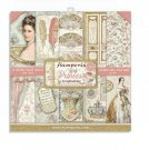"Stamperia 8""x8"" Double-Sided Paper Pad - Princess (10 pack)"