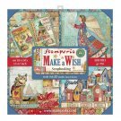 "Stamperia 12""x12"" Maxi Paper Pack - Make a Wish (22 sheets)"