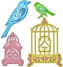 Spellbinders Shapeabilities - Bird Sanctuary (4 dies)
