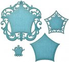 Spellbinders Nestabilities Decorative Elements Dies - Labels 48 Deco Element