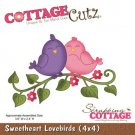 CottageCutz Dies - Sweetheart Lovebirds
