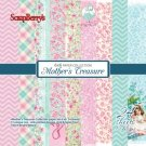 "ScrapBerrys 6""x6"" Paper Pack - Mothers Treasure (24 sheets)"