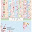"Scrapberrys 12""x12"" Paper - Sweet Moments (9 Sheets)"