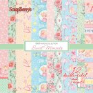"Scrapberrys 6""x6"" Paper Pad - Sweet Moments (12 Sheets)"