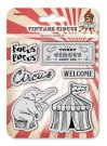 Scrapberrys Clear Stamp Set - Vintage Circus Focus