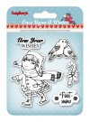 Scrapberrys Clear Stamp Set - Once Upon a Winter 1