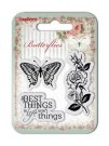 Scrapberrys Clear Stamp Set - Butterflies No. 1